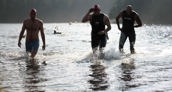Luray Triathlon in Page County