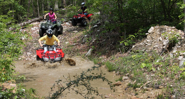 Four wheeling in Page County