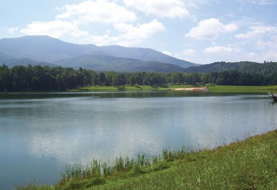 Lake Arrowhead is in Luray and Page County