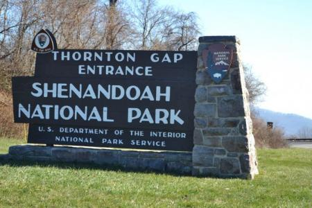 Shenandoah National Park is in Luray and Page County Va, right in the Shenandoah Vally.