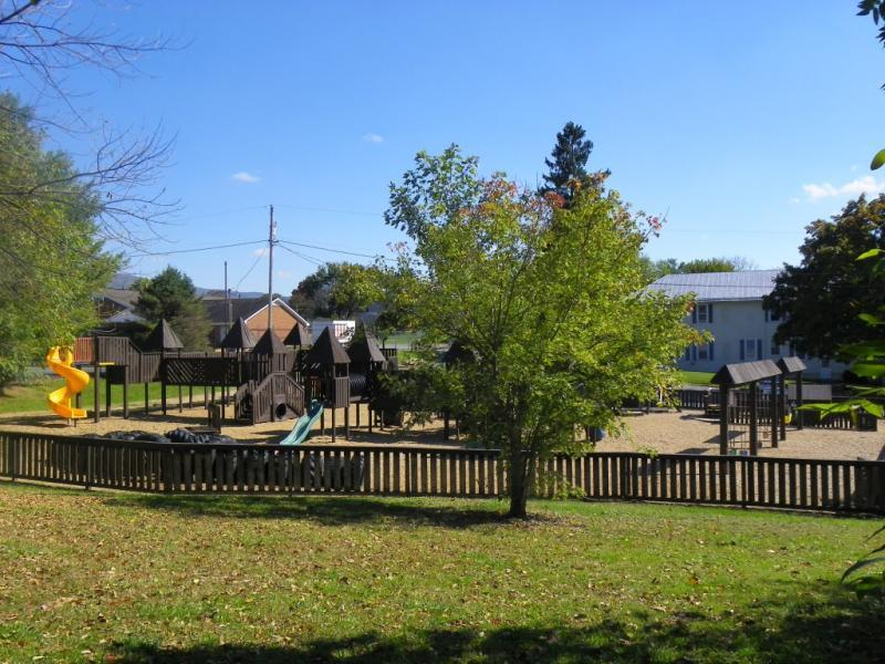 WigWam Village Playground and Tennis Town of Shenandoah