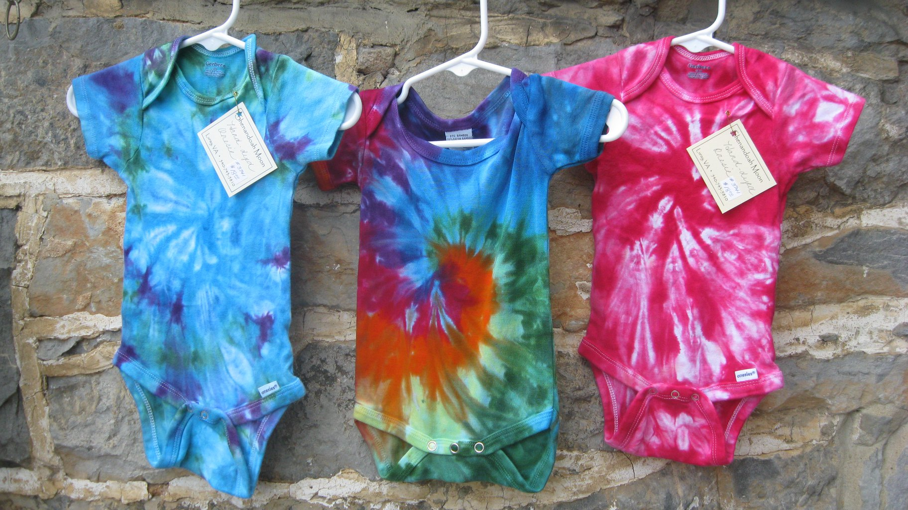 5ebd08c56b350 Open Tie Dye T-shirt or Baby Onesie | Luray-Page Chamber of Commerce