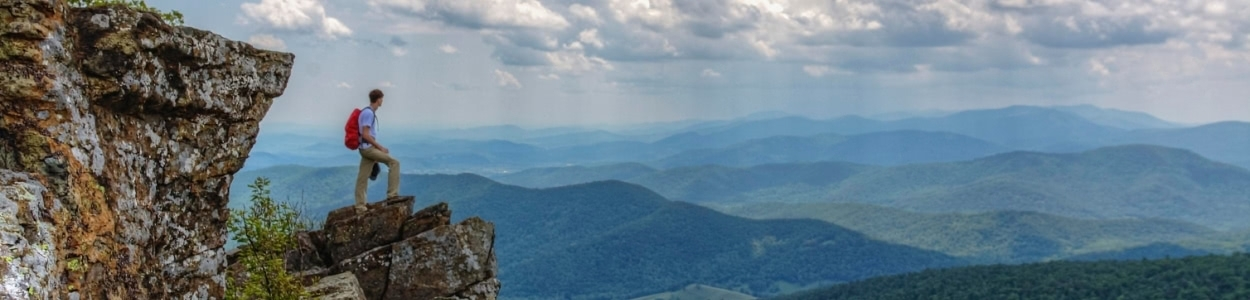 Shenandoah National Park has many things to do and different activities and runs right through Luray and Page County.